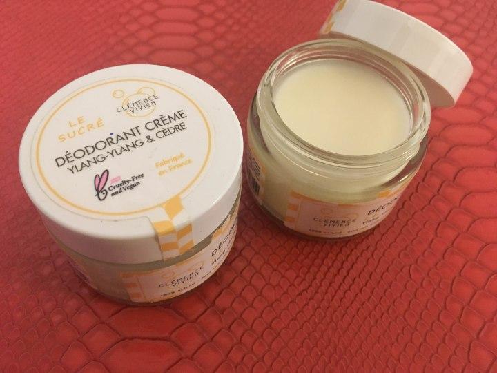 Le déodorant crème – Clémence &Vivien